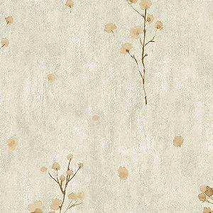 Papel de Parede Cimento Queimado com Flores Elegance 3 EL203303R