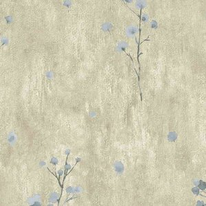 Papel de Parede Cimento Queimado com Flores Elegance 3 EL203304R