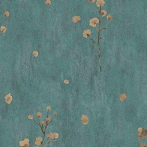 Papel de Parede Cimento Queimado com Flores Elegance 3 EL203305R