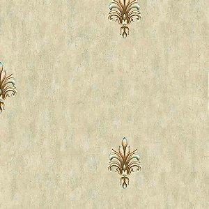 Papel de Parede Arabesco Golden Horse 2 GH262501R