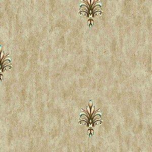 Papel de Parede Arabesco Golden Horse 2 GH262502R