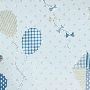Papel de Parede Infantil Balões e Pipa Ola Baby 2 OL220801R