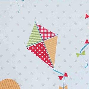 Papel de Parede Infantil Balões e Pipa Ola Baby 2 OL220802R