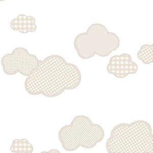 Papel de Parede Infantil Nuvens Ola Baby 2 OL222101R