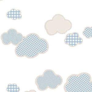 Papel de Parede Infantil Nuvens Ola Baby 2 OL222102R