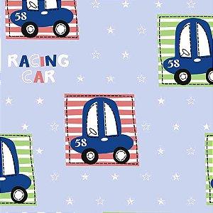 Papel de Parede Infantil Carros, Caminhões, Ônibus e Trens Hello Kids HK223402R