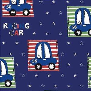 Papel de Parede Infantil Carros, Caminhões, Ônibus e Trens Hello Kids HK223403R
