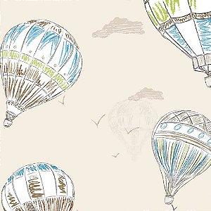 Papel de Parede Infantil Balões Hello Kids HK224001R