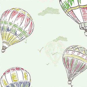 Papel de Parede Infantil Balões Hello Kids HK224002R