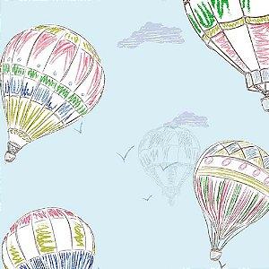 Papel de Parede Infantil Balões Hello Kids HK224003R