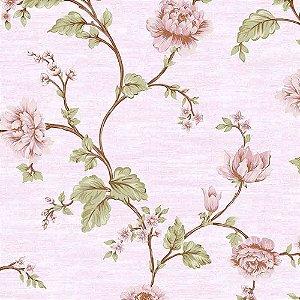 Papel de Parede Alto Relevo Floral Veneza VN7201040
