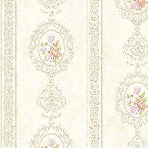 Papel de Parede Alto Relevo Floral Veneza VN7205010
