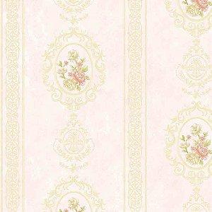 Papel de Parede Alto Relevo Floral Veneza VN7205020
