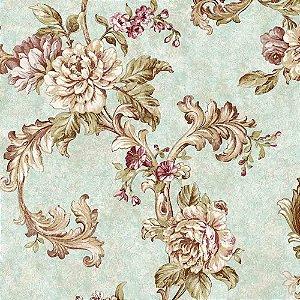 Papel de Parede Alto Relevo Floral Veneza VN7208010