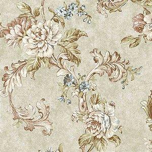 Papel de Parede Alto Relevo Floral Veneza VN7208030