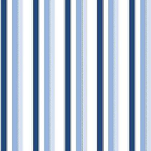 Papel de Parede Infantil Bambinos Listrado Azul 3307