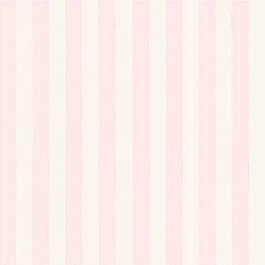 Papel de Parede Infantil Bambinos Listrado Rosa 3324