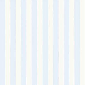 Papel de Parede Infantil Bambinos Listrado Azul 3328