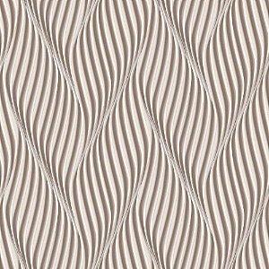Papel de Parede Dimensões 3D Espiral Marrom 4704