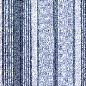 Papel de Parede Classique Listrado Azul Jeans 2832