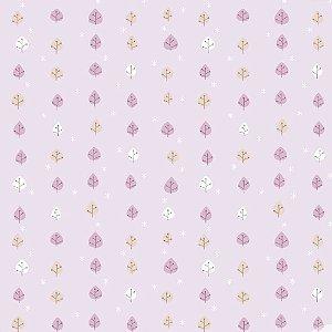 Papel de Parede Infantil Baby Charmed Folhagem BB221605