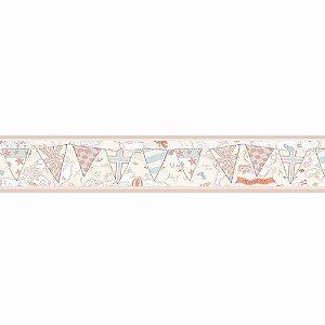 Faixas de Parede Baby Charmed Mapa Bandeiras BB220301B