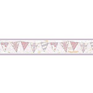 Faixas de Parede Baby Charmed Mapa Bandeiras BB220303B
