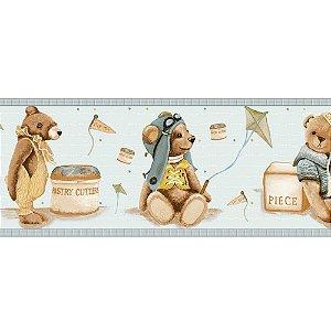 Faixas de Parede Baby Charmed Ursos Ursinhos BB220703B