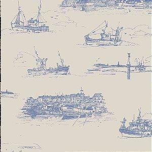 Papel de Parede Da Vinci 2 Temas Diversos Barcos Navios DV120502