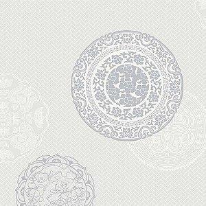 Papel de Parede Eclipse Tribal Étnico Mandalas EC791301K