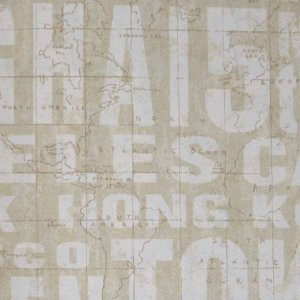Papel de Parede Grace Letras & Números GR921002