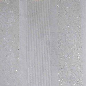 Papel de Parede Homeland Listrado com Arabesco HL55014