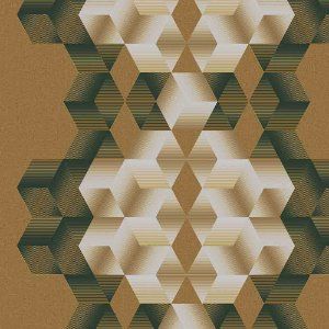 Papel de Parede Neonature 3 Geométricos 3D 3N850505R