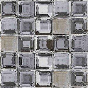 Papel de Parede Neonature 4 Temas Diversos Tijolo de Vidro 4N854001R