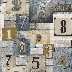 Papel de Parede Neonature 4 Letras & Números  4N854101R