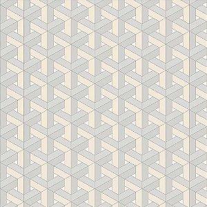 Papel de Parede New Form Geométricos 3D NF630101