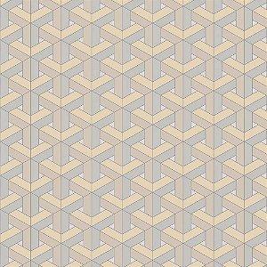Papel de Parede New Form Geométricos 3D NF630103