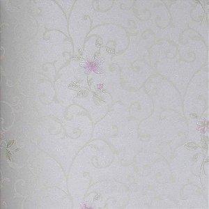 Papel de Parede Scenery 2 Floral com Arabesco SC29075