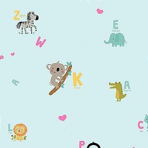 Papel de Parede Infantil YOYO Letras & Números YY222501R