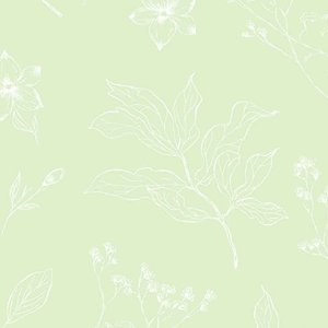 Papel de Parede Infantil YOYO Folhagem YY222604K