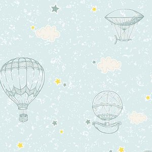 Papel de Parede Infantil YOYO Balões YY222705K
