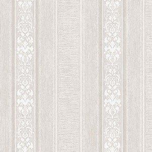 Papel de Parede Elegance Alto Relevo Listrado com Arabesco EL2004010