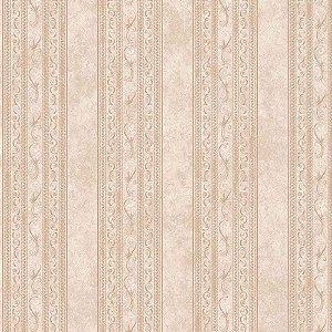 Papel de Parede Elegance Alto Relevo Listrado com Arabesco EL201003K