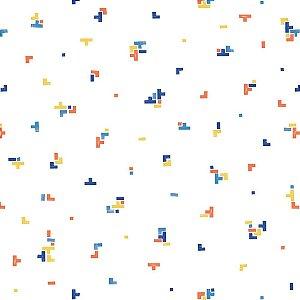 Papel de Parede Infantil Brincar Geométricos 3632