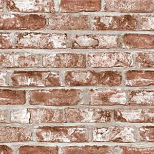 Papel de Parede Stone Age 2 Tijolinho Pedra - Marrom SN604803R
