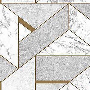 Papel de Parede Stone Age 2 Geométrico Marrom SN606001R