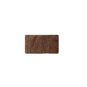 Revestimento de Parede Ecobrick 13,5 x 7,5cm Ferrugem 27492 - Caixa 24 unidades