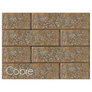 Revestimento de Parede Ecobrick 13,5cm x 7,5cm Cobre 27211 - Caixa 12 unidades