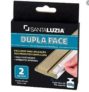 Fita Dupla Face Santa Luzia 1,2cm x 2m