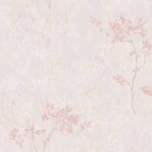 Papel de Parede Elegance 2 Floral Rosa EL202201R